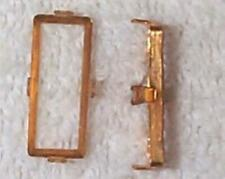 VINTAGE HIGH QUALITY BRASS SETTING MOUNTS FINDINGS - 16 PCS