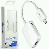 MHL For Samsung Galaxy S5 S4 S3 Note 3 4 HDMI HDTV Adapter 11Pin -UK - S.MHL