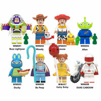 Lego Woody With Forky Minifigures Disney Building Blocks Toy story Gift Kids