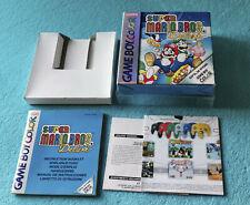 Nintendo Game Boy Color - SUPER MARIO BROS. DELUXE - Ovp + Anleitung -kein Spiel