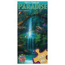 Masterpieces 500 Piece Puzzle David Miller Vertical Panoramic Escape to Paradise