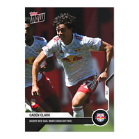 Caden Clark New York Red Bulls MLS Topps Now 2021 Card #11 - Pre-Sale No Cancel