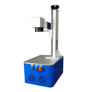 20w Raycus fiber laser marking machine for gold silver metal stainless jewelry