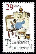 Norman Rockwell Usa United States 29 Cent Mint Unused Stamp Mnh Scott #2839