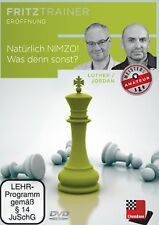 ChessBase Luther, Jordan - Natürlich Nimzo! Was denn sonst? - fritztrainer - NEU