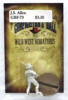 Knuckleduster GBF79 J.S. Allen (Gunfighter's Ball) Old West Gunslinger Vigilante