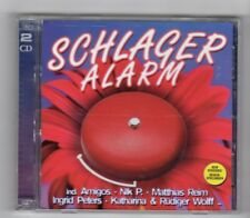 (HY876) Schlager Alarm, 32 tracks various artists - 2008 double CD