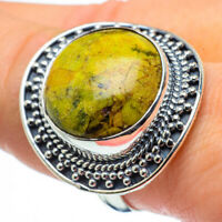 Large Stichtite 925 Sterling Silver Ring Size 9.25 Jewelry R30305F