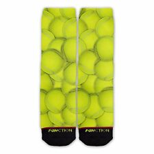 Function - Tennis Ball Pattern Fashion Sock adidas sock stan smith tennis