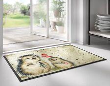 WMK wash+dry Fußmatte Design Spike / Igel  50x75 cm Nr.019728