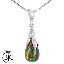 Collares y colgantes de joyería de oro blanco diamante de belleza