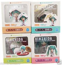 Lovely Anime Vocaloid Hatsune Miku /Snow PVC Mini Action Figure Four Figurine