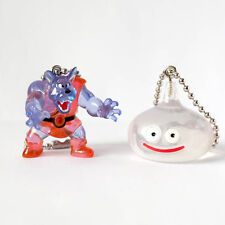 Square Enix SQEX Toys Dragon Quest Crystal Monster 9 Wolf & Slime Keychain