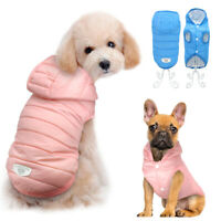 Waterproof Dog Winter Clothes Warm Small Dog Jacket Puppy Cat Light Coat Vest