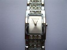 River Island Quartz Ladies Watch With Matching Silver Diamond Studed Bracelet