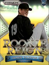 2014 Panini Prizm Rookie Reign Prizms Gold #15 James Paxton /10