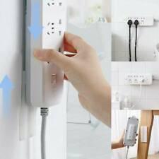 Seamless Punch-free Magic Plug Strip Fix Sticker Holder Power Strip Sticky Rack