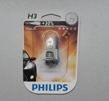 Philips Vision H3 Halogen Leuchtmittel Halogenlampe 55 W 2er Pack 12336PRB1