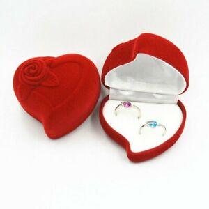 2 Ringe Ringbox Ringschachtel Ringschatulle Ringetui Schmuck samt Heiratsantrag