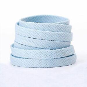 1pair Elastic Polyester Shoelaces 120/140/160cm Flat Pastel Shoelace Unisex Fash