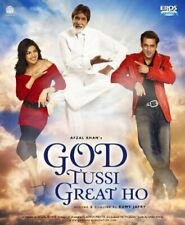 """35mm Feature Film Bollywood """"GOD TUSSI GREAT HO"""" 2008  H22-6A"""