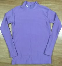 UNDER ARMOUR COLD GEAR Compression Shirt Youth XL YXL Purple