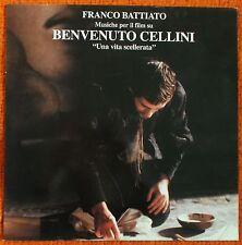 FRANCO BATTIATO -  COLONNA SONORA BENVENUTO CELLINI UNA VITA SCELLERATA - LP 33'