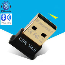 3Mbps Bluetooth 4.0 USB 2.0 CSR 4.0 Dongle Adapter for PC LAPTOP WIN XP 7 8 10