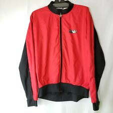 Sugoi's RS Zap Cycling Jacket Mens  Red & Black Windproof Red Chili Size L
