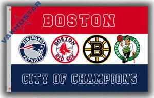 Boston city of Champions team Memorable flag 90x150cm 3x5ft best banner BOSTON