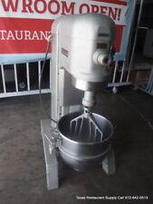 Hobart H 600t 60 Qt Commercial Dough Mixer With Bowl 1 Attachment