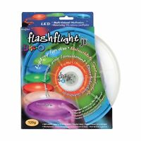 Nite Ize Flashflight Jr 120g LED Flying Disc Disco Light-Up Sports Small Frisbee