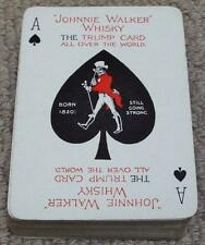 Johnnie Walker Whisky - Vintage 1920's Pack of Wide Playing Cards - Special Aces