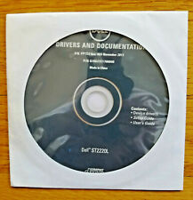 DELL ST2220L DELL DRIVERS AND DOCUMENTATION CD, Brand NEW! RARE!