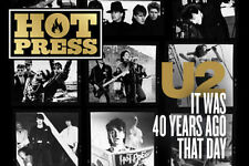 U2 - BONO - 40 YEARS SPECIAL PHOTO COVER Interview HOT PRESS MAGAZINE OCT 2016