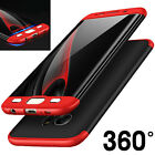 360 Full Cover Hybrid Hard Plastic PC Shockproof Case for Samsung Galaxy S7 Edge