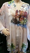 BNWT new Size 20+ blouse top 128cm bust RPP$159 SEVEN SISTERS Tunic NEW Dharan