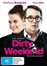 Dirty Weekend (DVD, 2017) (Region 4) Aussie Release