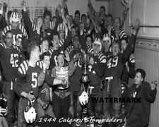 Cfl 1949 Grey Cup Champs Calgary Stampeders Celebration 8 X 10 Photo Picture