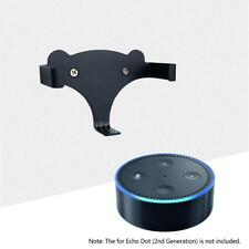 Black Wall Mount Stand Holder For Amazon Echo Dot 2nd Generation Speaker L4N4