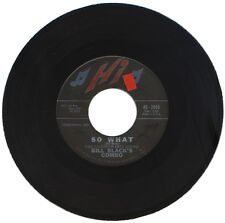 "BILL BLACK'S COMBO  ""SO WHAT c/w BLUES FOR THE RED BOY""   DEMO  60's     LISTEN!"