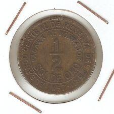 Perú: 1/2 Soles de Oro 1957 VF