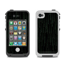 Skin for LifeProof iPhone 4/4S - Matrix Style Code - Sticker Decal