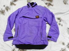 ORIGINAL BUFFALO dp PERTEX & PILE FLEECE mountain SHIRT COAT purple LARGE 44