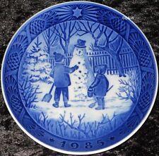 piatto di Natale Royal Copenaghen 1985