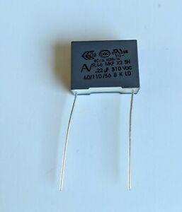 Condensateur MKP X2 0.22uF 0,22µF 220nF 275V 310V 15mm
