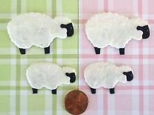 50 Lambs sheep Lamb Handmade mulberry paper Easter Christmas manger baby babies
