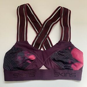 Skins Compression Sports Bra, Size XS