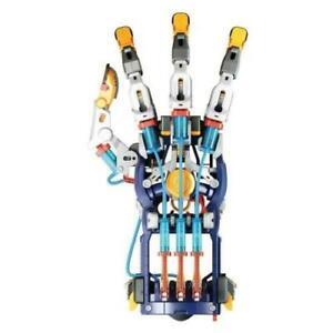 Construct & Create Water Powered Hydraulic Cyborg Hand