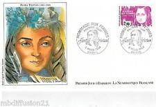 1984-ENVELOPPE FDC 1°JOUR-HOMMAGE AUX FEMMES-FLORA TRISTAN-TIMBRE Yt.2303